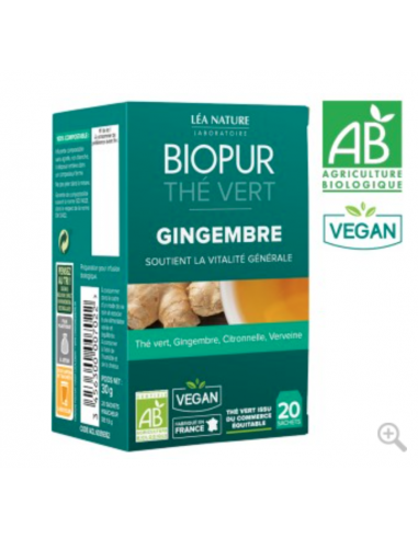 The vert Gingembre - BIOPUR BIOPUR